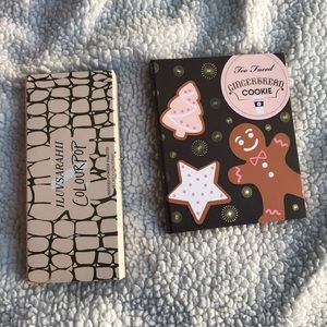 Too Faced & ColourPop ILuvSarahii palettes